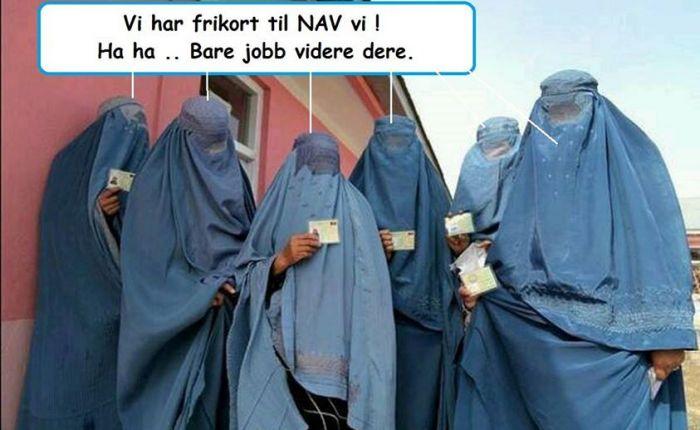 muslimske kvinner norsk